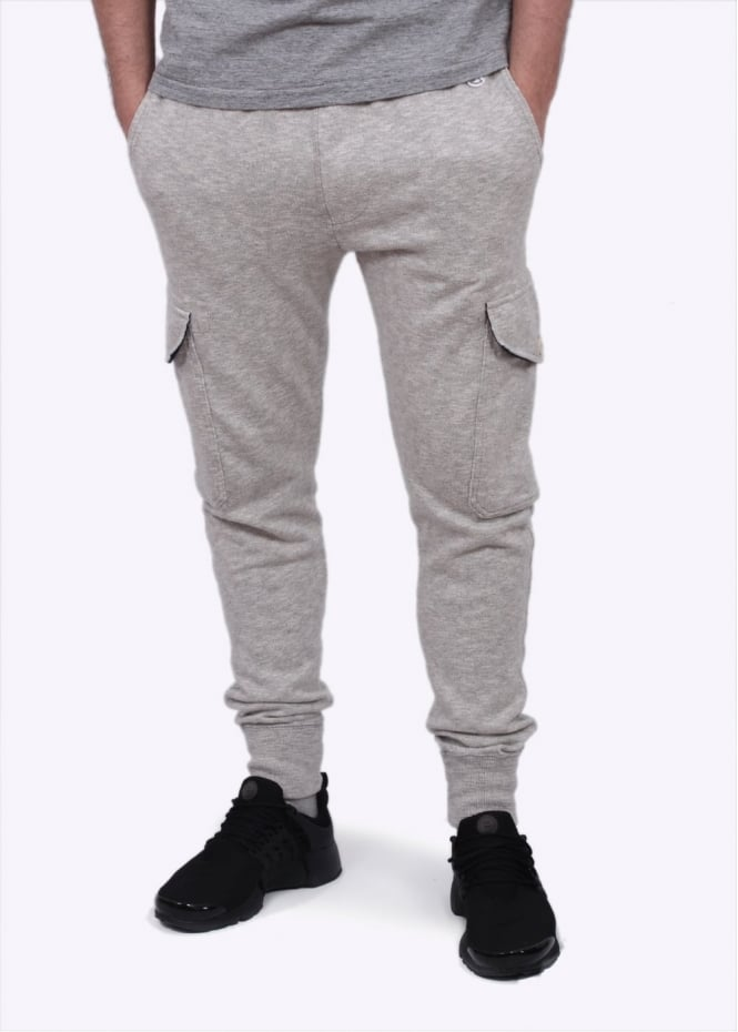 Champion x Todd Snyder Cargo Sweatpants - Grey Heather