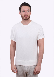 Champion x Todd Snyder Raglan Crew Sweater - White