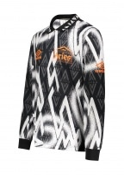Aries x Umbro LS Football Jersey - Black / White