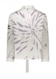 Aries x Umbro Tie Dye Pro 64 Pullover - Dusk Spiral