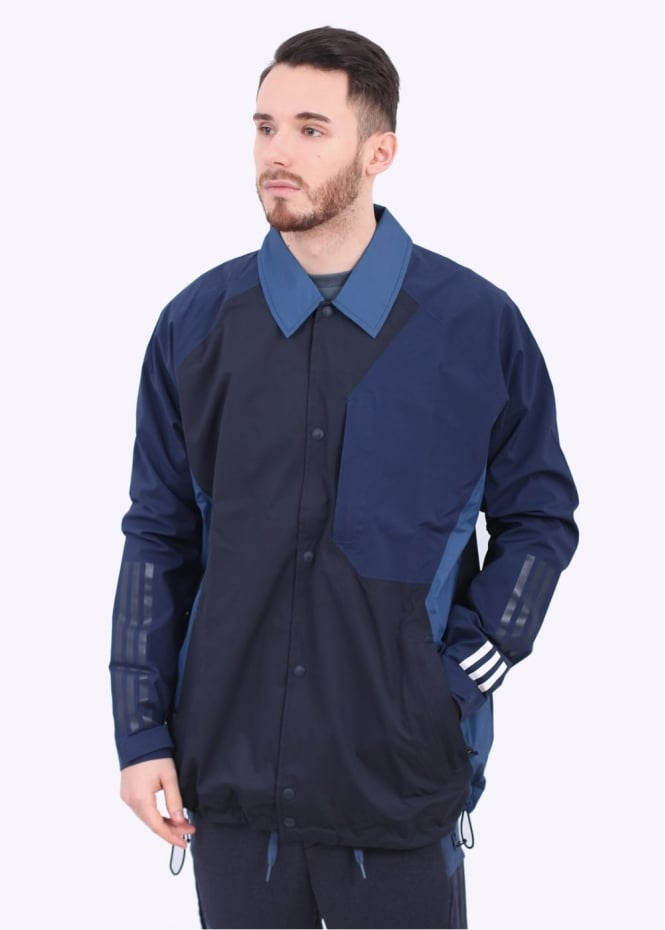 x White Mountaineering Bench Jacket - Navy