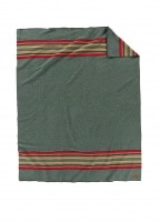Pendleton Yakima Twin Blanket - Green Heather