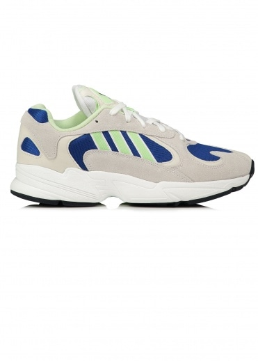 adidas Originals Footwear Yung-1 - White / Glow Green