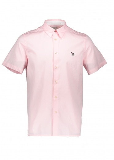 Paul Smith Zebra Casual Shirt - Pink