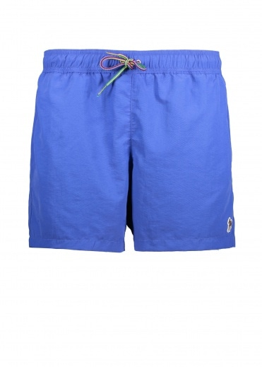 Paul Smith Zebra Swim Shorts - Blue
