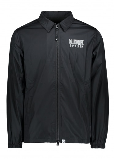Billionaire Boys Club Zip Coach Jacket - Black