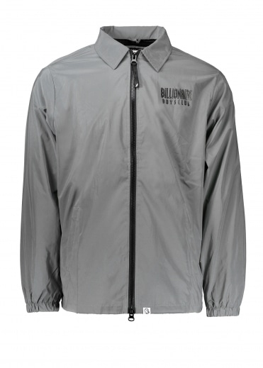 Billionaire Boys Club Zip Coach Jacket - Reflective