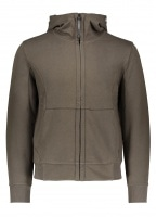 C.P. Company Zip Hooded Sweat - Cloudburst