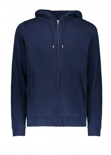 Lacoste Zip Hoody - Navy Blue