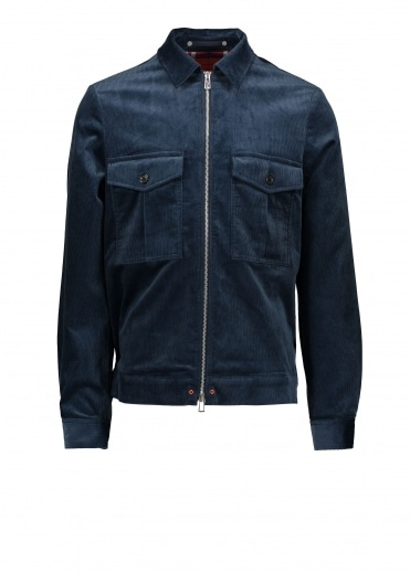 Paul Smith Zip Jacket - Indigo