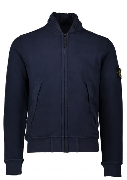 Stone Island Zip Jacket - Navy Blue