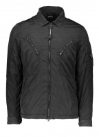 C.P. Company Zip Overshirt - Black Coffee