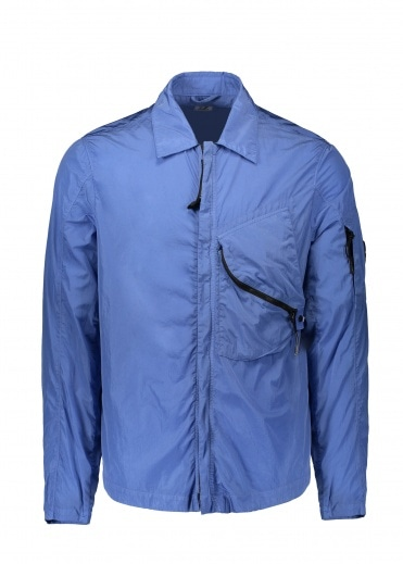 C.P. Company Zip Overshirt Dutch - Blue