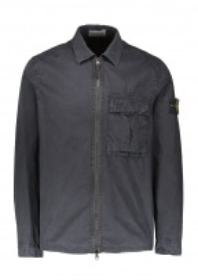 Zip Overshirt - Navy Blue
