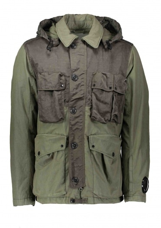 C.P. Company Zip Pocket Jacket - Sage
