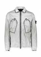 Zip Pocket Overshirt - Smokey Grey