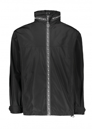 McQ by Alexander McQueen Zip Tech Wind Parka - Black