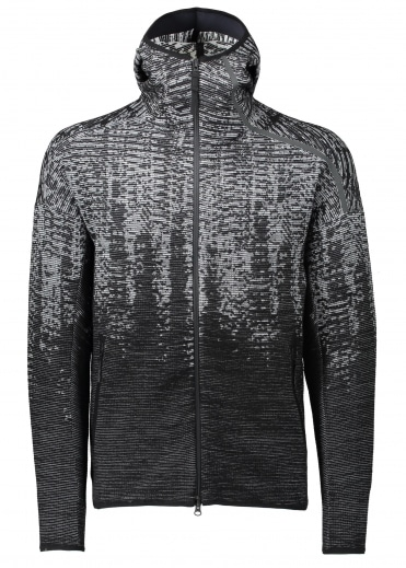 Adidas Originals Apparel ZNE Pulse Knit Hoody - Black / White